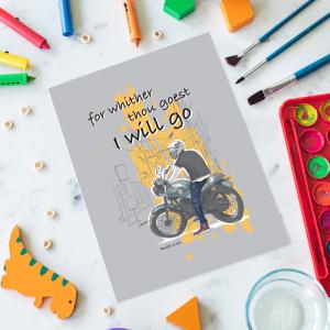 Children's Bike A6 Notepad