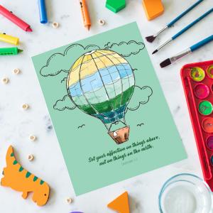 A6 Children's Animal Notepad
