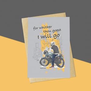 Bike Bible Verse Card