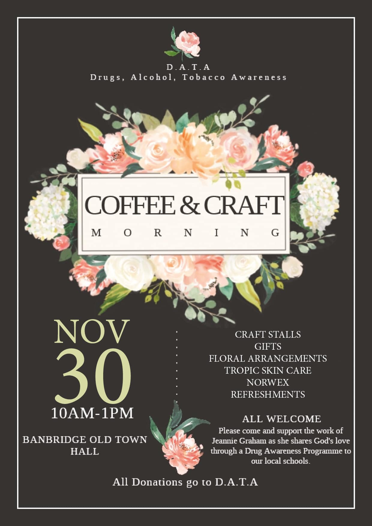Jeannie Graham Coffee & Craft Morning
