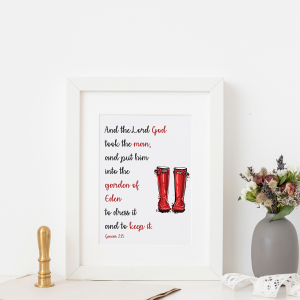 Wellies Adult Frame