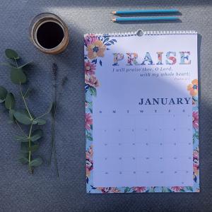 Scripture Verse Calendar 2021