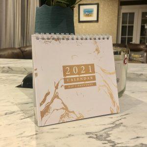 Dinky Desk Calendar 2021